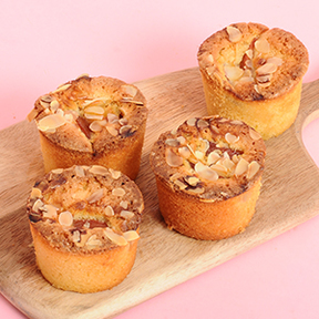 Plum and Almond Mini Cakes x 4