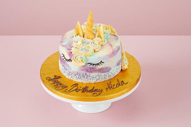 Unicorn Cakes From 163 16 50 Free Personalisation Order