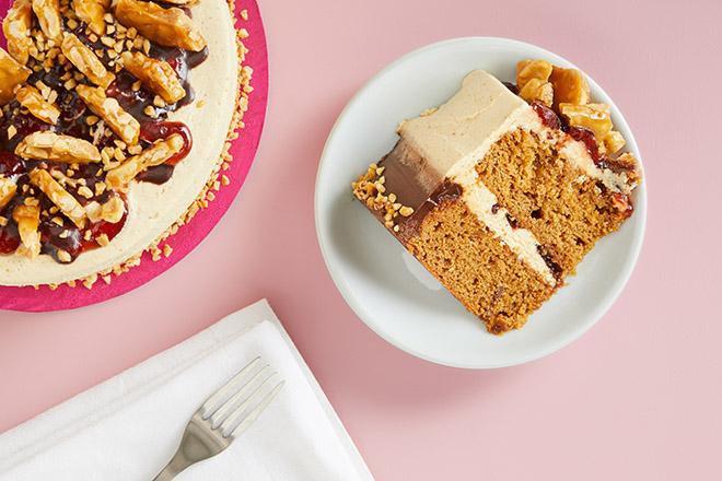 Peanut Butter And Jam Cake Uk