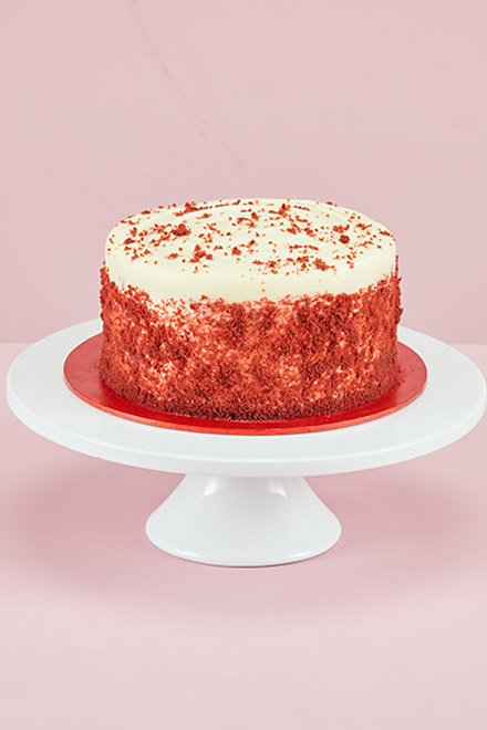 Enjoyable Red Velvet Birthday Cake To Buy Order Online Enjoy Delivery Personalised Birthday Cards Rectzonderlifede