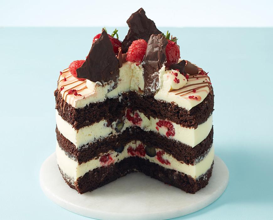Chocolate Vanilla Naked Cake - Fashionnes - Mode