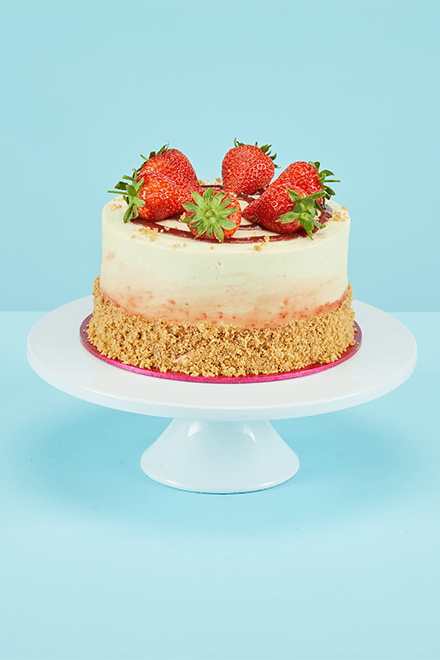 Strawberries Amp Cream Cake