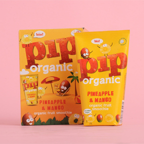 Pip Organic Kids Pineapple and Mango Smoothie x  4