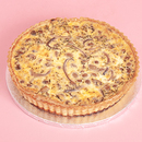 Mushroom & Red Onion Quiche - Family Size