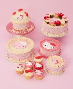 Hello Kitty Cupcakes and Cakes