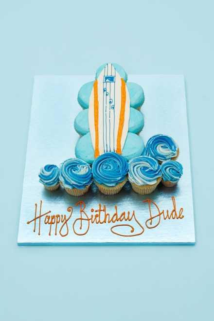 Swell Surfboard Picture Gallery Cake Personalised Birthday Cards Petedlily Jamesorg