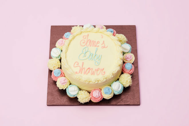 Baby Shower Cakes Delivered Uk ~ Baby shower carousel cake