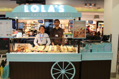 Lolas's Cupcakes - London City Airport