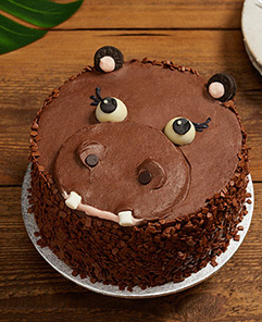 Stupendous Buy Animal Face Cakes Online Lolas Cupcakes Personalised Birthday Cards Akebfashionlily Jamesorg