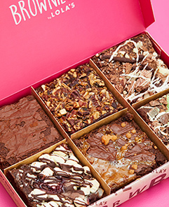 Brownies By Post Delivered To Your Door Lola S Brownies