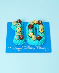 Buy Kids Mini Number Cakes Online From Lola S Cupcakes